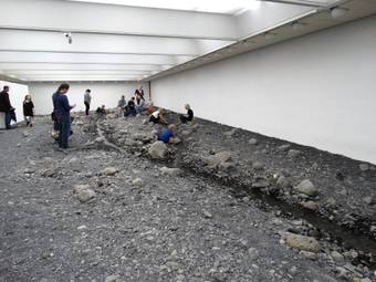 Instalation Riverbed im Museum Louisiana